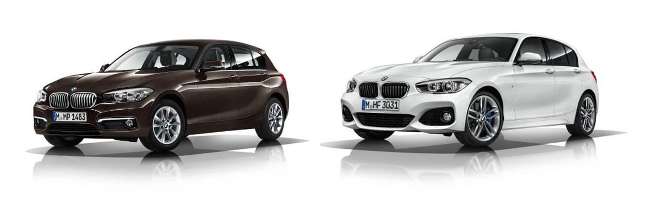 BMW1シリーズ_デザイン・ライン比較