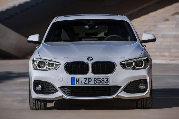 BMW 1シリーズ_フロントフェイス