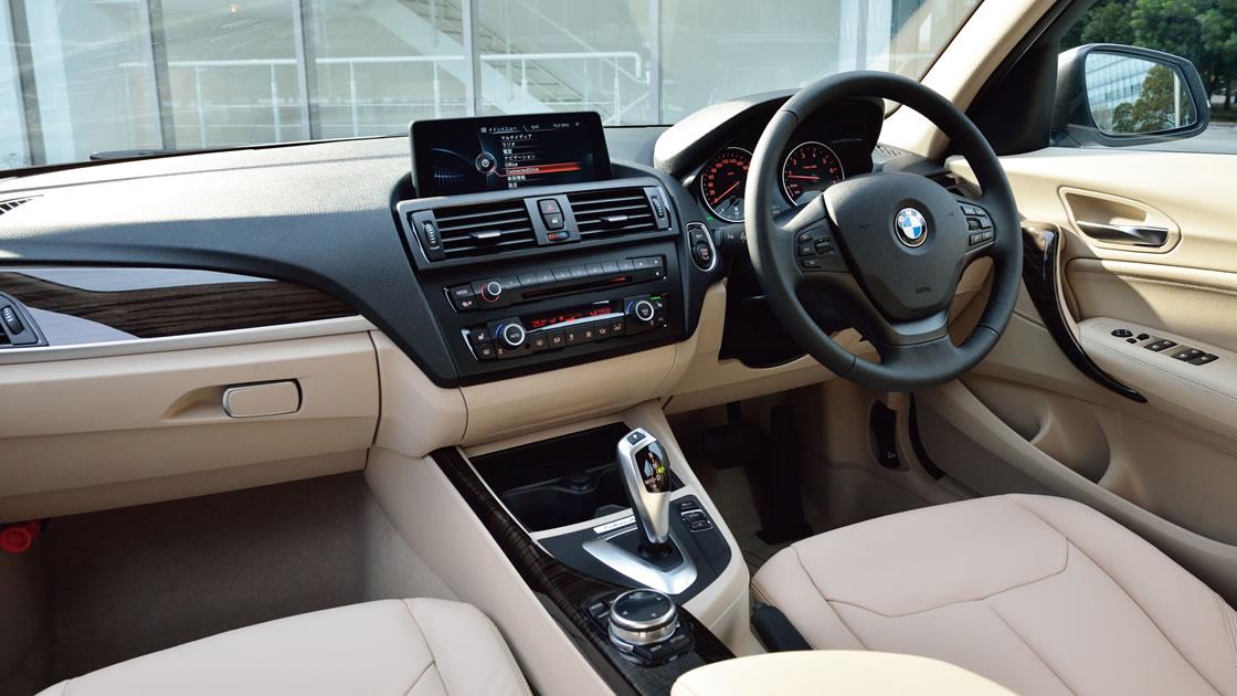 BMW 1シリーズのインテリア